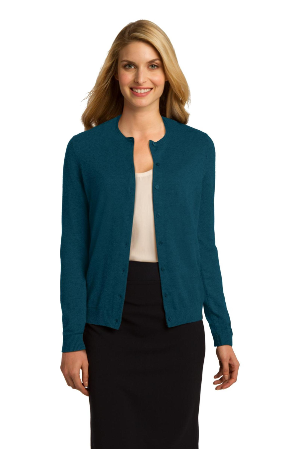 Port Authority Embroidered Women's Cardigan